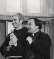 Fr. Gabriel Calvo and Fr. Don Murray